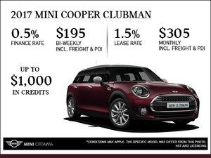 2017 MINI Cooper Clubman