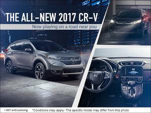 Experience the New 2017 Honda CR-V!