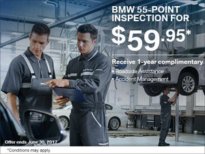 Save on a 55-Point Inspection at Elite BMW