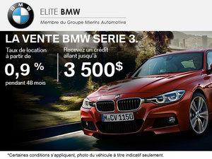 La vente BMW Série 3