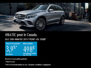 La Mercedes-Benz GLC 300 4MATIC 2017