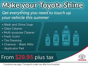 Make Your Toyota Shine!