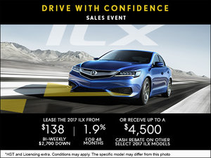 Drive Home the 2017 Acura ILX today!