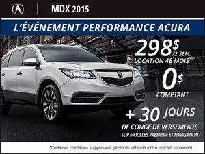 Acura MDX SH-AWD 2015 en location à partir de 298$ aux 2 semaines
