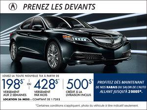 Acura TLX 2015 en location à partir de 198$ aux 2 semaines