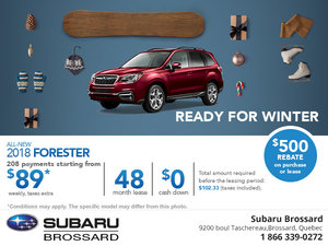 Save on the 2018 Subaru Forester Today!