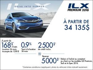 Acura ILX 2016 en location