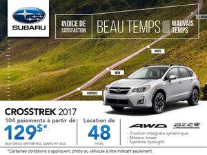Le Subaru Crosstrek 2017 en rabais!