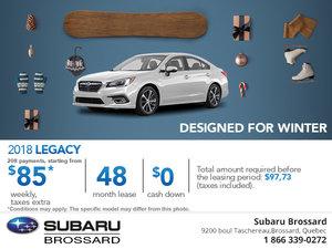 Buy the 2018 Subaru Legacy Today!