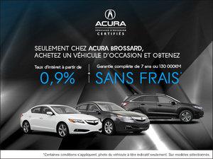 Financez un véhicule Acura d'occasion chez Acura Brossard