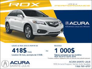 Acura RDX 2017 en location