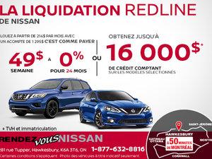 La liquidation Redline de Nissan