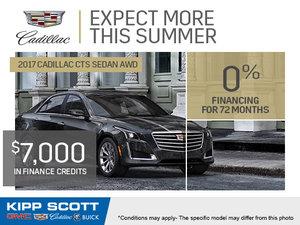 Save Big on the 2017 Cadillac CTS Sedan!