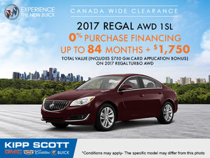 Get the 2017 Buick Regal Today!
