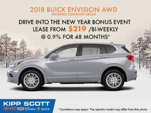 Save on the 2018 Buick Envision Today!