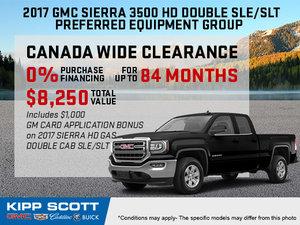 Save Big on the New 2017 GMC Sierra 3500HD!