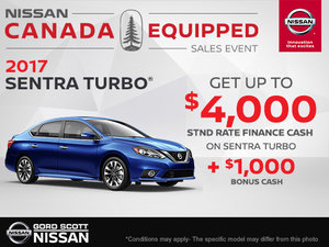 Get the 2017 Nissan Sentra Turbo Today