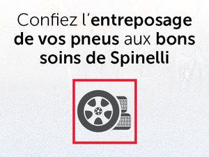 Entreposage de pneus chez Spinelli