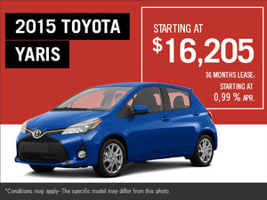 Get the new 2015 Toyota Yaris
