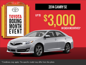 New 2014 Toyota Camry!