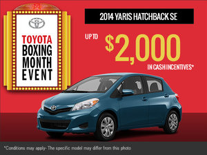 Get the new 2014 Toyota Yaris!