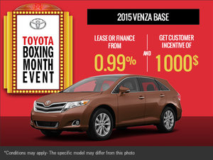 The all-new 2015 Toyota Venza is here!