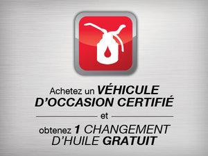 Premier changement d'huile gratuit - véhicules d'occasion certifiés