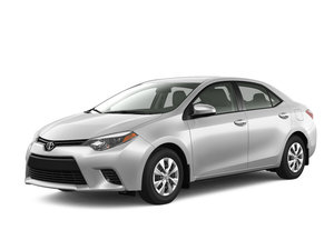 Toyota Corolla in promotion at Spinelli Pointe-Claire