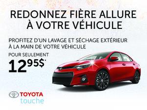 Profitez du lavage extérieur de votre véhicule pour seulement 12,95$
