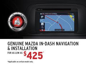 Genuine Mazda In-dash Navigation System