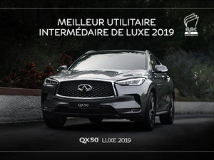 INFINITI QX50 NEUF EN PROMOTIONS À MONTRÉAL