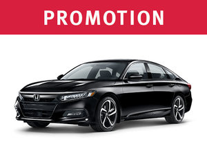 Honda Accord neuf en promotion à Montréal