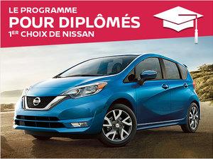 Le programme pour diplômés 1er choix de Nissan