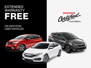 Get an extented warranty at no-charge