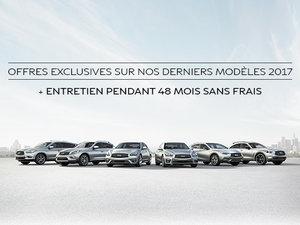 Promotion exclusives sur les modèles 2017