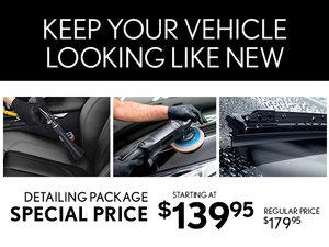 Lexus Car Detailing Package