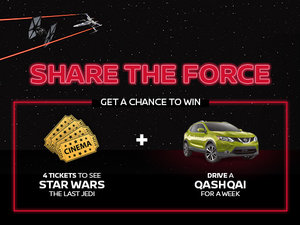 Share the Force Contest