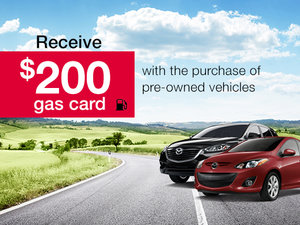 Pre-owned Vehicle Promotion