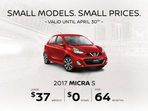 2017 Nissan Micra Liquidation