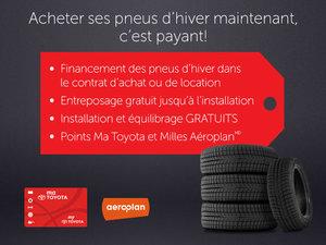 Acheter ces pneus d'hiver maintenant, c'est payant