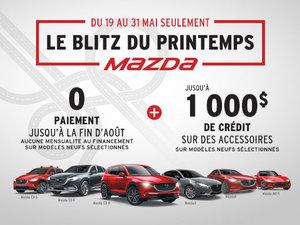 Événement Le Blitz du Printemps Mazda