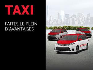 Promotions pour les taxis