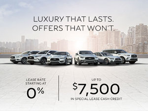 Luxury that Lasts. Offers that won't