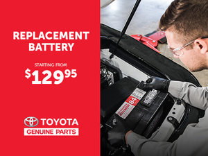 Replacement Battery - Toyota Genuine Parts