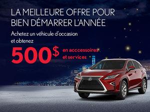 Meilleure offre de l'année sur nos véhicules d'occasion