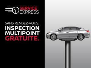 Profitez du Service Express Nissan