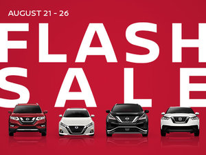 The Nissan Flash Sale