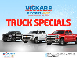 Vickar Chevrolet Truck Specials