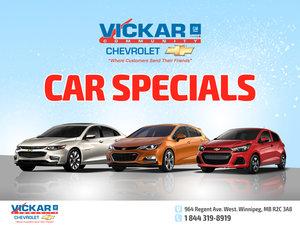 Vickar Chevrolet Car Specials