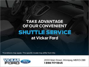 Vickar Ford's Shuttle Service
